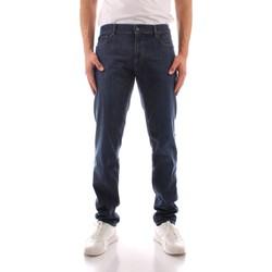 Oblačila Moški Jeans straight Trussardi 52J00000 1Y000149 BLUE