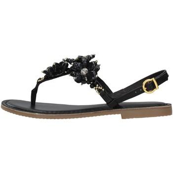 Čevlji  Ženske Sandali & Odprti čevlji Café Noir C1GF1820 BLACK