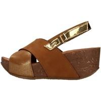 Čevlji  Ženske Sandali & Odprti čevlji IgI&CO 7186211 BROWN