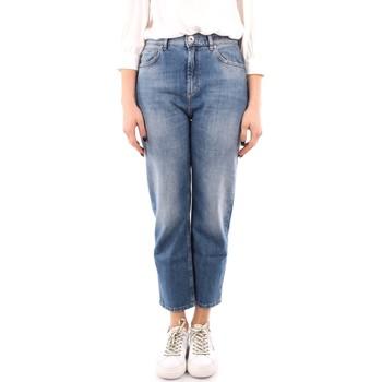 Oblačila Ženske Jeans straight Marella RSLIM BLUE