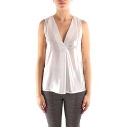 Oblačila Ženske Topi & Bluze Liu Jo IF0069T4526 WHITE