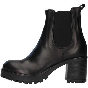 Čevlji  Ženske Gležnjarji Unica 10264 BLACK