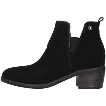 Čevlji  Ženske Gležnjarji NeroGiardini I013080D BLACK
