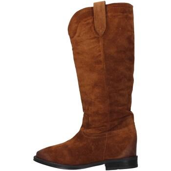 Čevlji  Ženske Mestni škornji    Café Noir HD612 BROWN