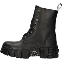 Čevlji  Polškornji New Rock WALL026NBASA BLACK