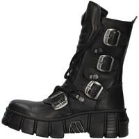 Čevlji  Polškornji New Rock WALL028N BLACK