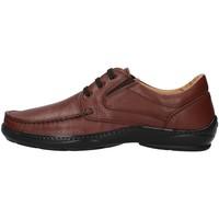 Čevlji  Moški Čevlji Derby Melluso U47038L BROWN