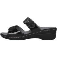 Čevlji  Ženske Natikači Melluso K95720 BLACK