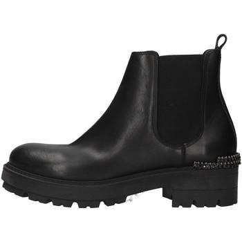 Čevlji  Ženske Gležnjarji Zoe WAR24 BLACK