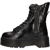 Čevlji  Ženske Mestni škornji    Gold&gold GA116 BLACK