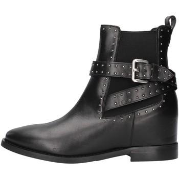 Čevlji  Ženske Gležnjarji Albano 1222 BLACK