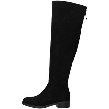Čevlji  Ženske Mestni škornji    Luciano Barachini DD113E BLACK