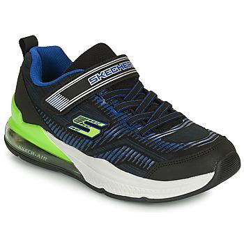 Čevlji  Otroci Nizke superge Skechers SKECH-AIR BLAST-TALLIXEEL A Modra