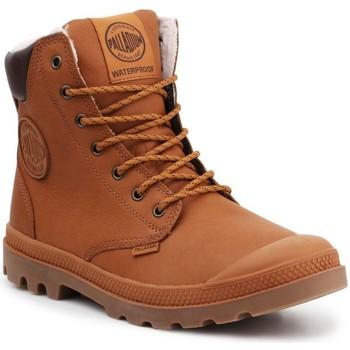 Čevlji  Visoke superge Palladium Manufacture Sport WPS 72992-251-M brown