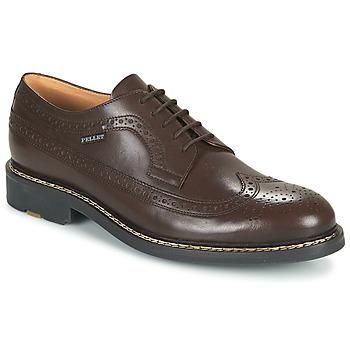 Čevlji  Moški Čevlji Derby Pellet NORMAN Kostanjeva