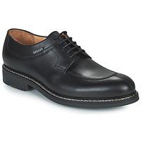 Čevlji  Moški Čevlji Derby Pellet Magellan Črna