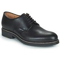 Čevlji  Moški Čevlji Derby Pellet Nautilus Črna