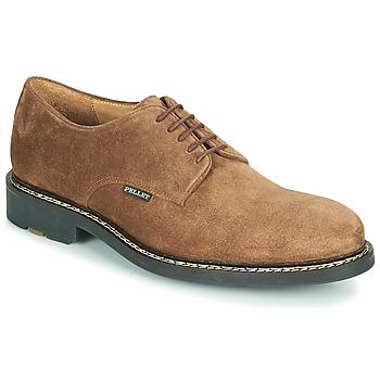 Čevlji  Moški Čevlji Derby Pellet Nautilus Kostanjeva