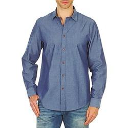 Oblačila Moški Srajce z dolgimi rokavi Ben Sherman BEMA00490 Modra