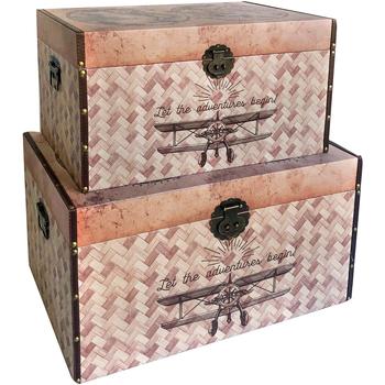 Dom Kovčki in škatle za shranjevanje Signes Grimalt Zaboji 2. September Svetovni September 2U Marrón