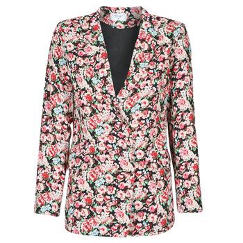 Oblačila Ženske Jakne & Blazerji Betty London OBIMBA Črna / Rožnata