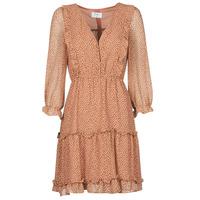 Oblačila Ženske Kratke obleke Betty London OBELLA Rouille