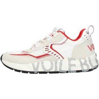 Čevlji  Moški Nizke superge Voile Blanche 001201592601 White and red