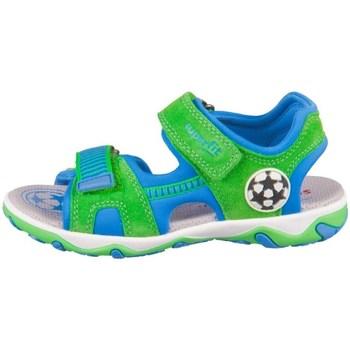 Čevlji  Dečki Sandali & Odprti čevlji Superfit Mike 30 Zelena, Modra