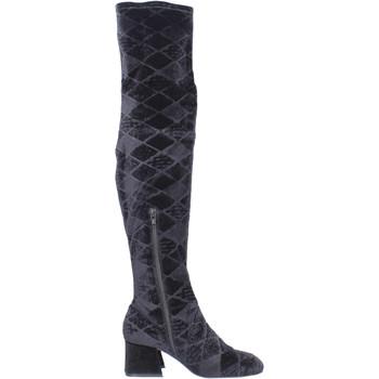 Čevlji  Ženske Visoki škornji Apepazza BJ801 Črna