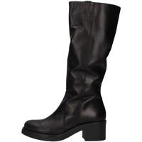Čevlji  Ženske Visoki škornji Unica 10187 BLACK