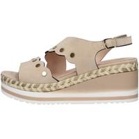 Čevlji  Ženske Sandali & Odprti čevlji Melluso R70742 BEIGE