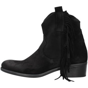 Čevlji  Ženske Gležnjarji Zoe VALENCIA08 BLACK