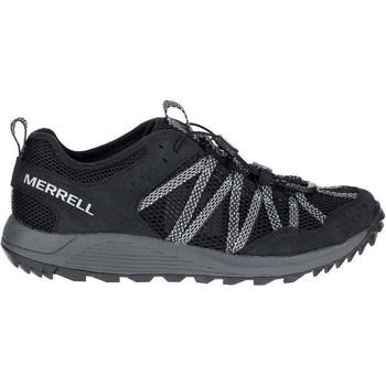 Čevlji  Moški Nizke superge Merrell Wildwood Aerosport Siva, Grafitna