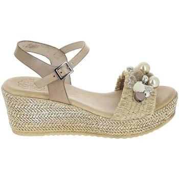 Čevlji  Ženske Sandali & Odprti čevlji Porronet Sandale F12646 Taupe Siva