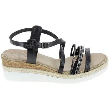 Čevlji  Ženske Sandali & Odprti čevlji Porronet Sandale F12632 Noir Črna