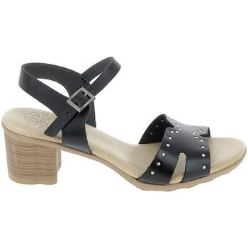 Čevlji  Ženske Sandali & Odprti čevlji Porronet Sandale F12626 Noir Črna