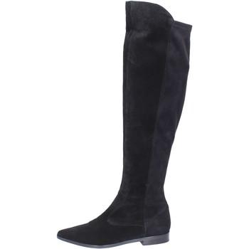 Čevlji  Ženske Visoki škornji Carmens Padova Čevlji BJ811 Črna