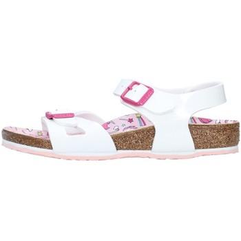 Čevlji  Deklice Sandali & Odprti čevlji Birkenstock 1018864 WHITE