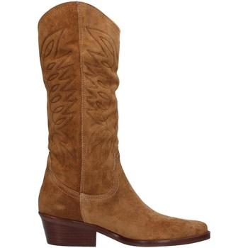 Čevlji  Ženske Mestni škornji    Dakota Boots DKT67 BROWN