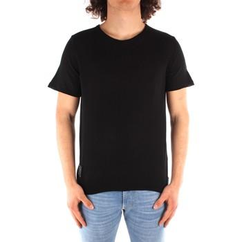 Oblačila Moški Majice s kratkimi rokavi Blauer 21SBLUM01319 BLACK