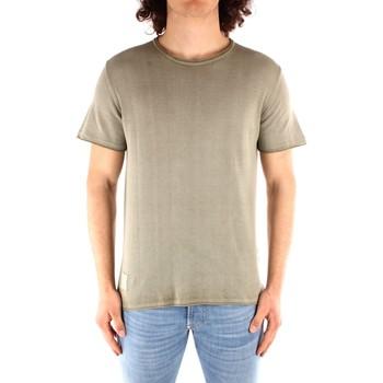 Oblačila Moški Majice s kratkimi rokavi Blauer 21SBLUM01319 GREEN