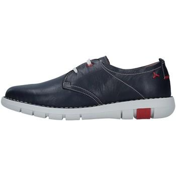 Čevlji  Moški Čevlji Derby Melluso U41000 BLUE
