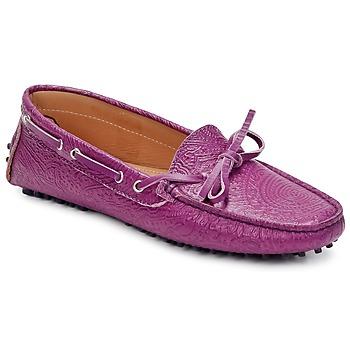 Čevlji  Ženske Mokasini Etro MOCASSIN 3773 Vijolična