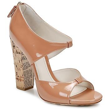 Čevlji  Ženske Sandali & Odprti čevlji John Galliano AN6364 Rožnata / Bež
