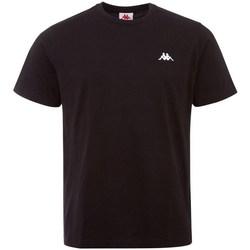 Oblačila Moški Majice s kratkimi rokavi Kappa Iljamor Črna