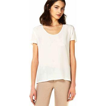 Oblačila Ženske Topi & Bluze Liu Jo W18313J0973 Biely