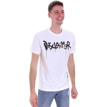 Oblačila Moški Majice s kratkimi rokavi Disclaimer 21EDS50565 Biely