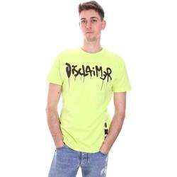 Oblačila Moški Majice s kratkimi rokavi Disclaimer 21EDS50565 Zelena
