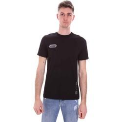 Oblačila Moški Majice s kratkimi rokavi Disclaimer 21EDS50517 Črna