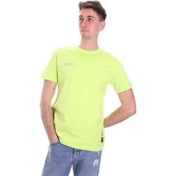 Oblačila Moški Majice s kratkimi rokavi Disclaimer 21EDS50517 Zelena